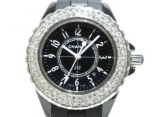 CHANEL(シャネル)/腕時計/型番:H0949/黒/2重ダイヤベゼル