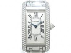 Cartier(カルティエ)/腕時計/タンクアメリカン/型番:WB7026L1