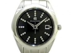 GrandSeiko(グランドセイコー)/腕時計/ヘリテージコレクション/型番:STGF271/ダークグレー/34Pダイヤ/0.13ct/マスターショップ限定モデル
