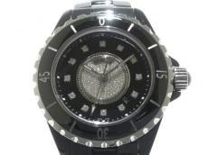 CHANEL(シャネル)/腕時計/J12/型番:H2122/黒/12P/センターダイヤ