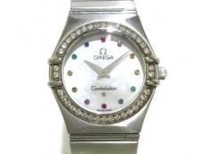 OMEGA(オメガ)/腕時計/コンステレーション ミニ アイリス/型番:1475.79/シェル/ベゼルダイヤ/シェル文字盤