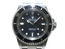 ROLEX(ロレックス)/腕時計/サブマリーナ/型番:5513/黒/R型/後期/フチあり/SS/14コマ