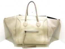 CELINE(セリーヌ)のラゲージスモールスクエアファントムのハンドバッグ