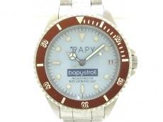 ベイピーの腕時計