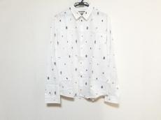 グッチのシンボルズ オックスフォード コットン デュークシャツ