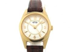 エテの腕時計