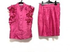 ブルーガールのスカートセットアップ