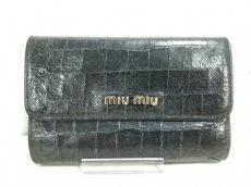 ミュウミュウの2つ折り財布