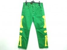 キャピタルの5P  Cisco Green Bone Jeans Pants