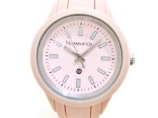ノミネーションの腕時計
