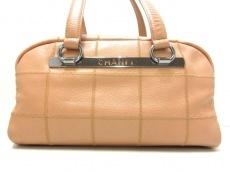 CHANEL(シャネル)のチョコバーステッチのショルダーバッグ