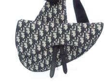 クリスチャンディオールのサドルバッグ