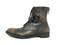 アルフレッドバニスターのブーツ