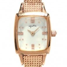 アガットの腕時計