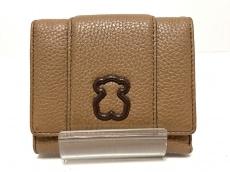 トウスの3つ折り財布