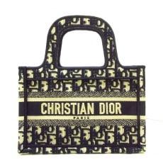 ディオール/クリスチャンディオールのディオール オブリーク ブック トート ミニバッグ