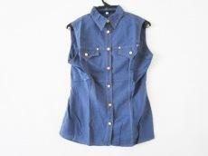 ヴェルサーチジーンズのシャツブラウス