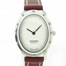 HERMES(エルメス)のクリッパーオーバルの腕時計