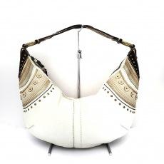 COACH(コーチ)のソーホーレザーステッチラージホーボのショルダーバッグ