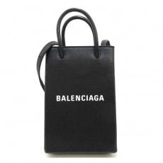 バレンシアガのショッピング フォン ホルダー