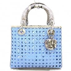ディオール/クリスチャンディオールのレディディオールミディアムバッグ