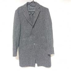 ハリスツイードのコート