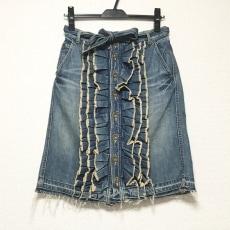 ミュベールワークのスカート