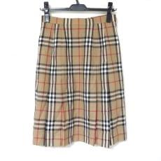 バーバリーズのスカート