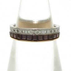 ブシュロンのキャトル クラシック ダイヤモンド リング ハーフ
