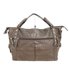 ジェニュイン レザーのハンドバッグ