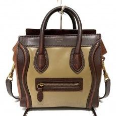 CELINE(セリーヌ)のラゲージナノショッパーのハンドバッグ