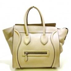 CELINE(セリーヌ)のラゲージミニショッパーのハンドバッグ