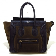 CELINE(セリーヌ)のラゲージマイクロショッパーのハンドバッグ