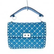 バレンチノガラバーニのロックスタッズスパイクミディアムバッグ