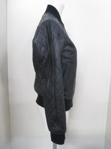 オキラク ブルゾン サイズXS レディース 黒