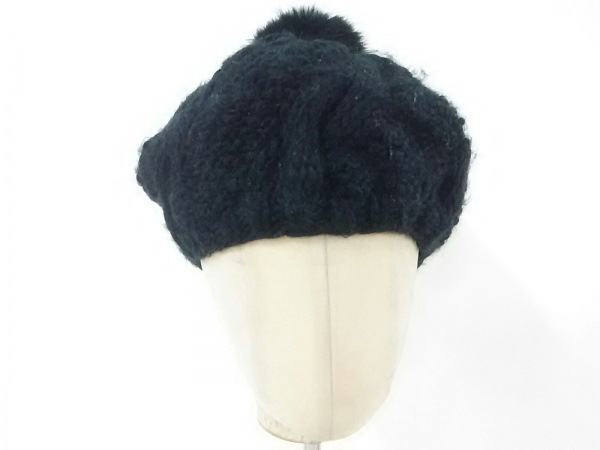 jujube(ジュジュブ) 帽子 FREE 黒