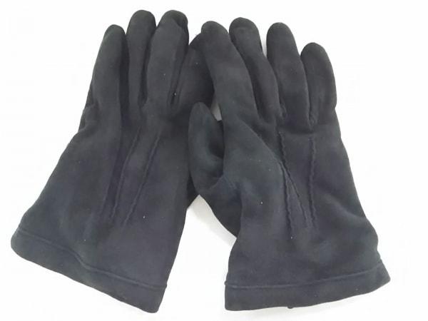 マドヴァ 手袋 8 1/2 レディース 黒