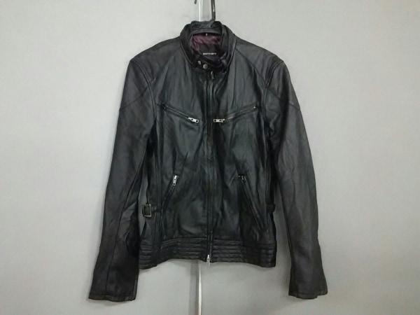 BOYCOTT(ボイコット) ライダースジャケット サイズ3 L メンズ 黒 フェイクレザー/冬物