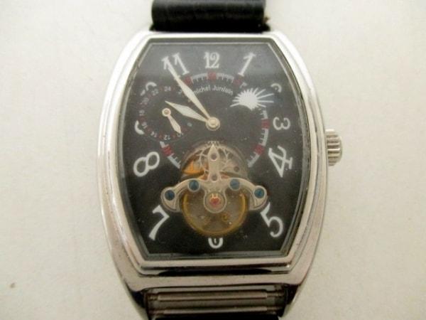 ミッシェルジョルダン 腕時計 EG-5312 黒