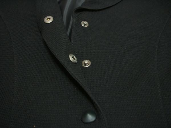 ティエリーミュグレー ジャケット 黒