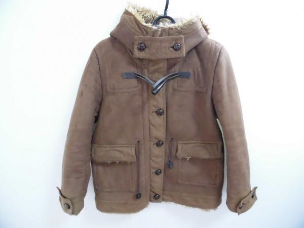 Broderie&Co(ブロードゥリーアンドコー) コート サイズ36 S レディース美品  ブラウン