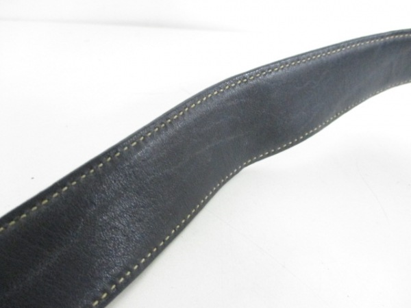 4cac14f2ef02 PRADA(プラダ) ショルダーバッグ - 黒 工場タグなし レザー(12390387 ...