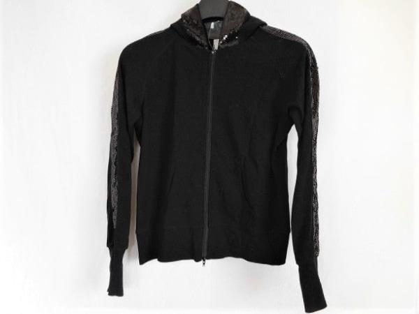 ププラ 長袖カットソー サイズ38 M 黒