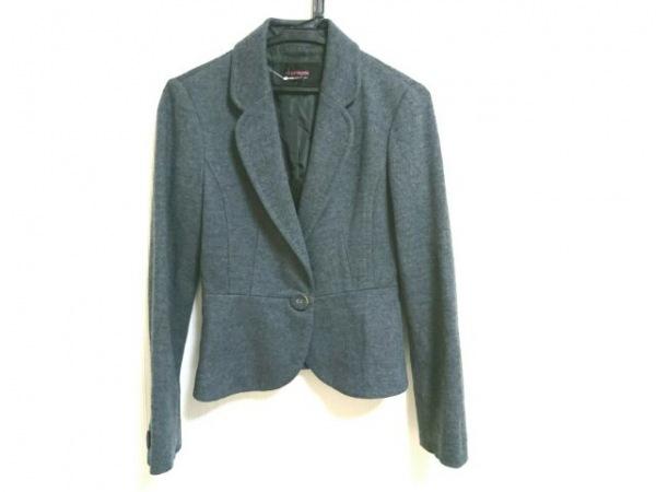 シェロー ジャケット サイズ36 S グレー