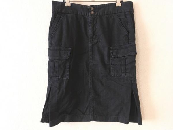 【中古】 セブンフォーオールマンカインド Seven for all mankind スカート サイズ27 M レディース 黒