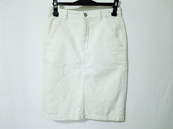 エルフォーブル スカート サイズ36 S 白