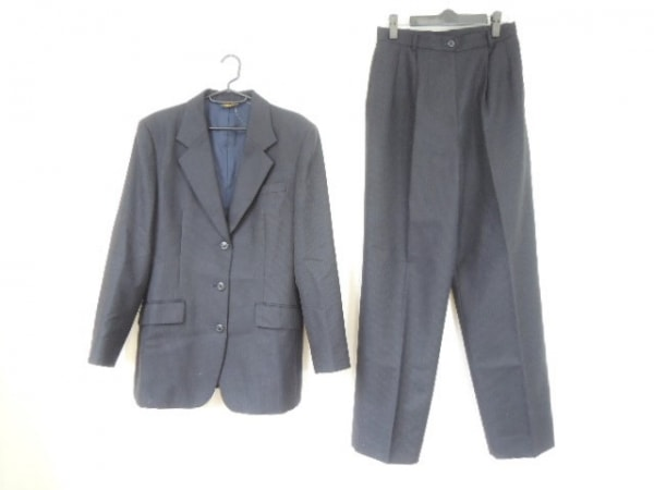 ブルックスブラザーズ レディースパンツスーツ サイズ13AR M メンズ美品  ストライプ