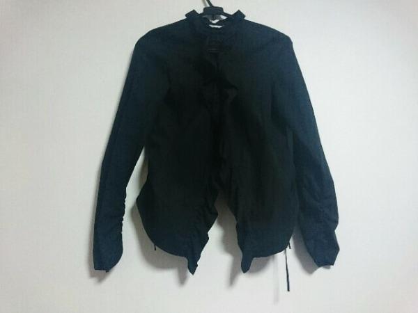 オペーク 長袖シャツブラウス サイズ2 M 黒