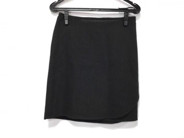 エマニュエルウンガロ 巻きスカート サイズ6/40 レディース美品  ストライプ