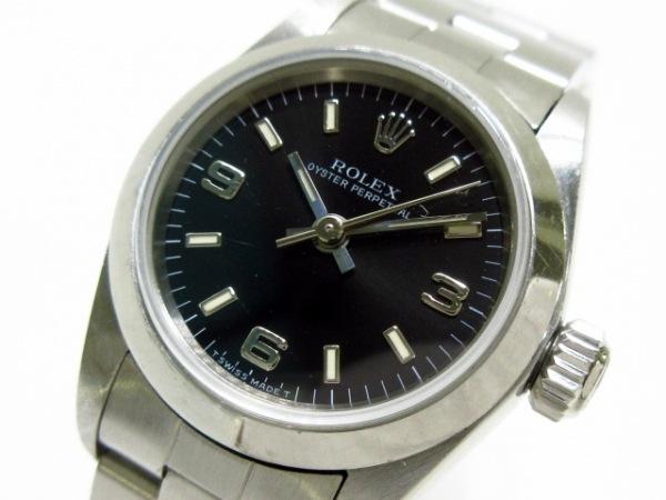 ロレックス 腕時計 67180 レディース 黒